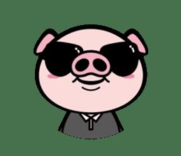 A strange pig sticker #1915561
