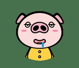 A strange pig sticker #1915564