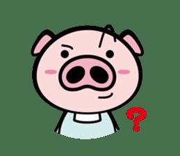 A strange pig sticker #1915568