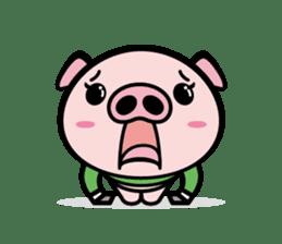A strange pig sticker #1915573