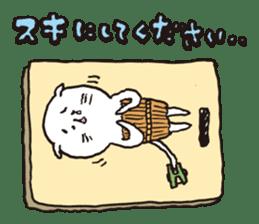 Sad cat Sticker sticker #1920304