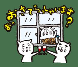 Sad cat Sticker sticker #1920329