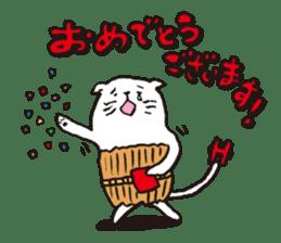 Sad cat Sticker sticker #1920338