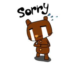 Oh Bear sticker #1920382