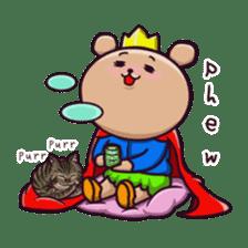 Kingdom of the bear sticker #1922247