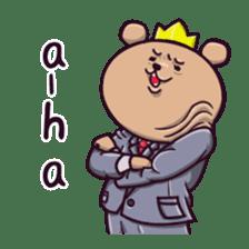 Kingdom of the bear sticker #1922249