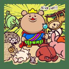 Kingdom of the bear sticker #1922251