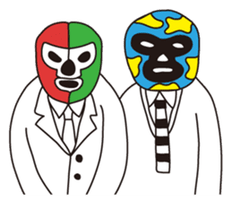 Wrestle Wedding sticker #1922302