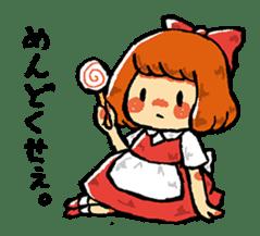 bitter girl sticker #1922541