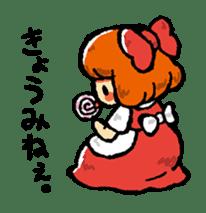 bitter girl sticker #1922542