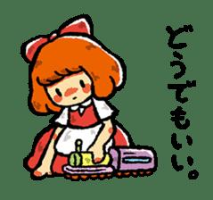 bitter girl sticker #1922579