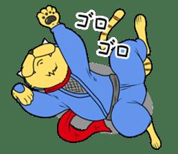 Nekomaru ninja cat sticker #1923080