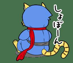 Nekomaru ninja cat sticker #1923091