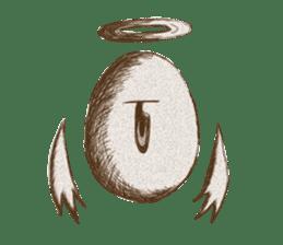 Egg Angel sticker #1924579
