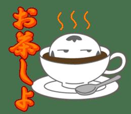 "Feeling of the ""KOKESHI"" sticker #1924631"