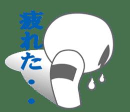 "Feeling of the ""KOKESHI"" sticker #1924651"