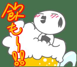 "Feeling of the ""KOKESHI"" sticker #1924653"