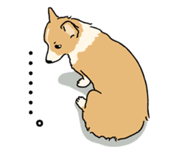 Pembroke Welsh Corgi sticker #1925838