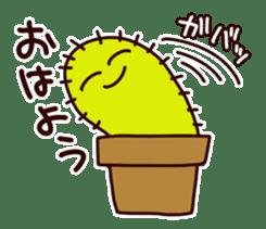 A noisy cactus sticker #1930078