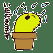 A noisy cactus sticker #1930080
