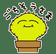A noisy cactus sticker #1930081