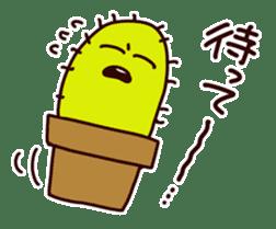 A noisy cactus sticker #1930084