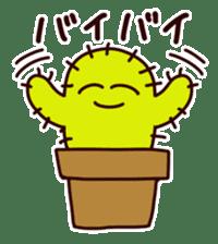 A noisy cactus sticker #1930085