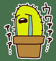 A noisy cactus sticker #1930086