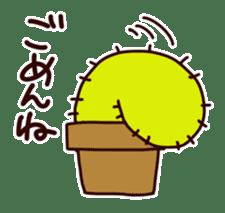 A noisy cactus sticker #1930090