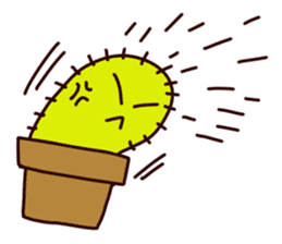 A noisy cactus sticker #1930092