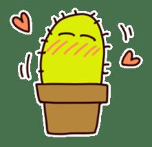 A noisy cactus sticker #1930097