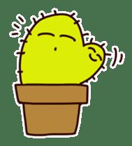 A noisy cactus sticker #1930103