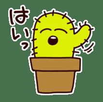 A noisy cactus sticker #1930111