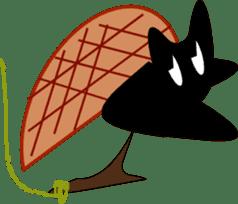 black cat Jita sticker #1932749