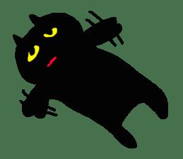 A cute Black Cat sticker #1933556
