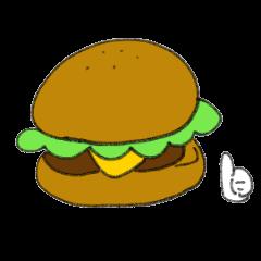 Hamburger slang