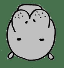 hippopotamus Sticker sticker #1938354