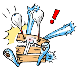 Box Bunny sticker #1940055
