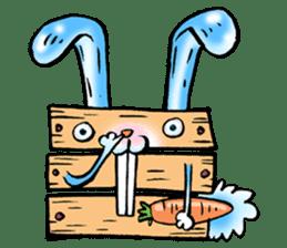 Box Bunny sticker #1940060