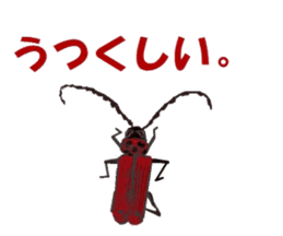 Sticker of insects sticker #1944806