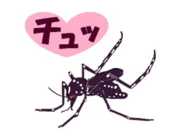 Sticker of insects sticker #1944809