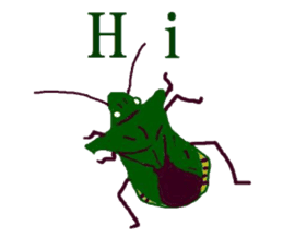 Sticker of insects sticker #1944815