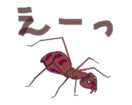 Sticker of insects sticker #1944818