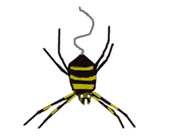 Sticker of insects sticker #1944820