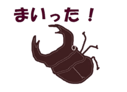 Sticker of insects sticker #1944823