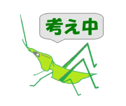 Sticker of insects sticker #1944829