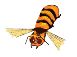 Sticker of insects sticker #1944830
