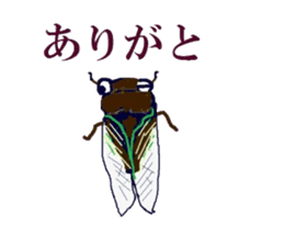 Sticker of insects sticker #1944834