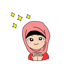 Happy Hijab Girl 1(Eng)