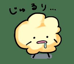 "Character ""popcorn"" sticker #1953829"